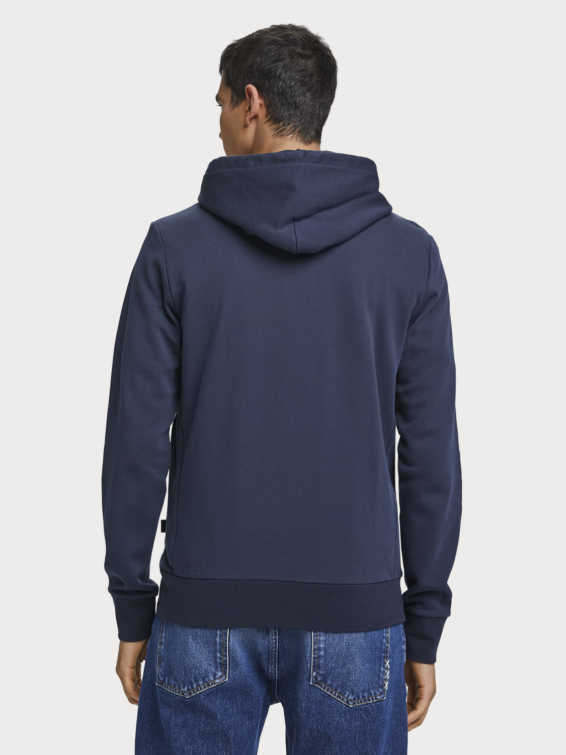 Men Zip-Through Hoodie