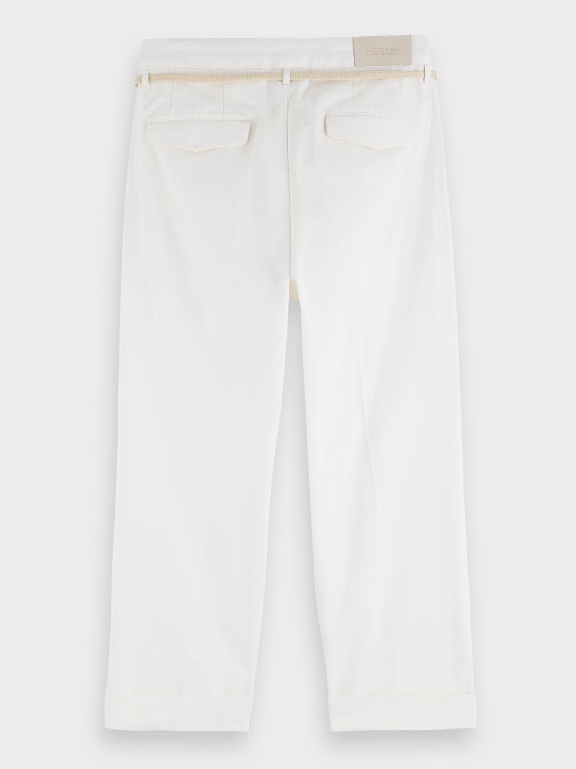 Men Pleated chinos | Loose tapered fit