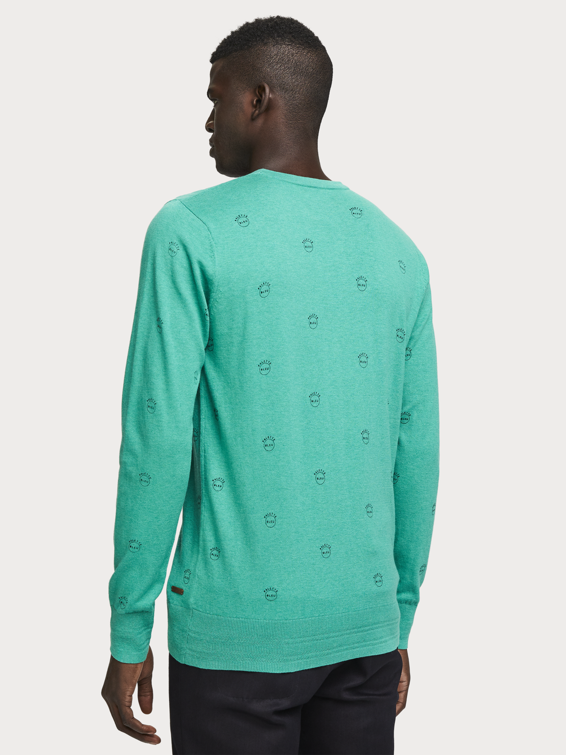 Men All-Over Printed Pullover