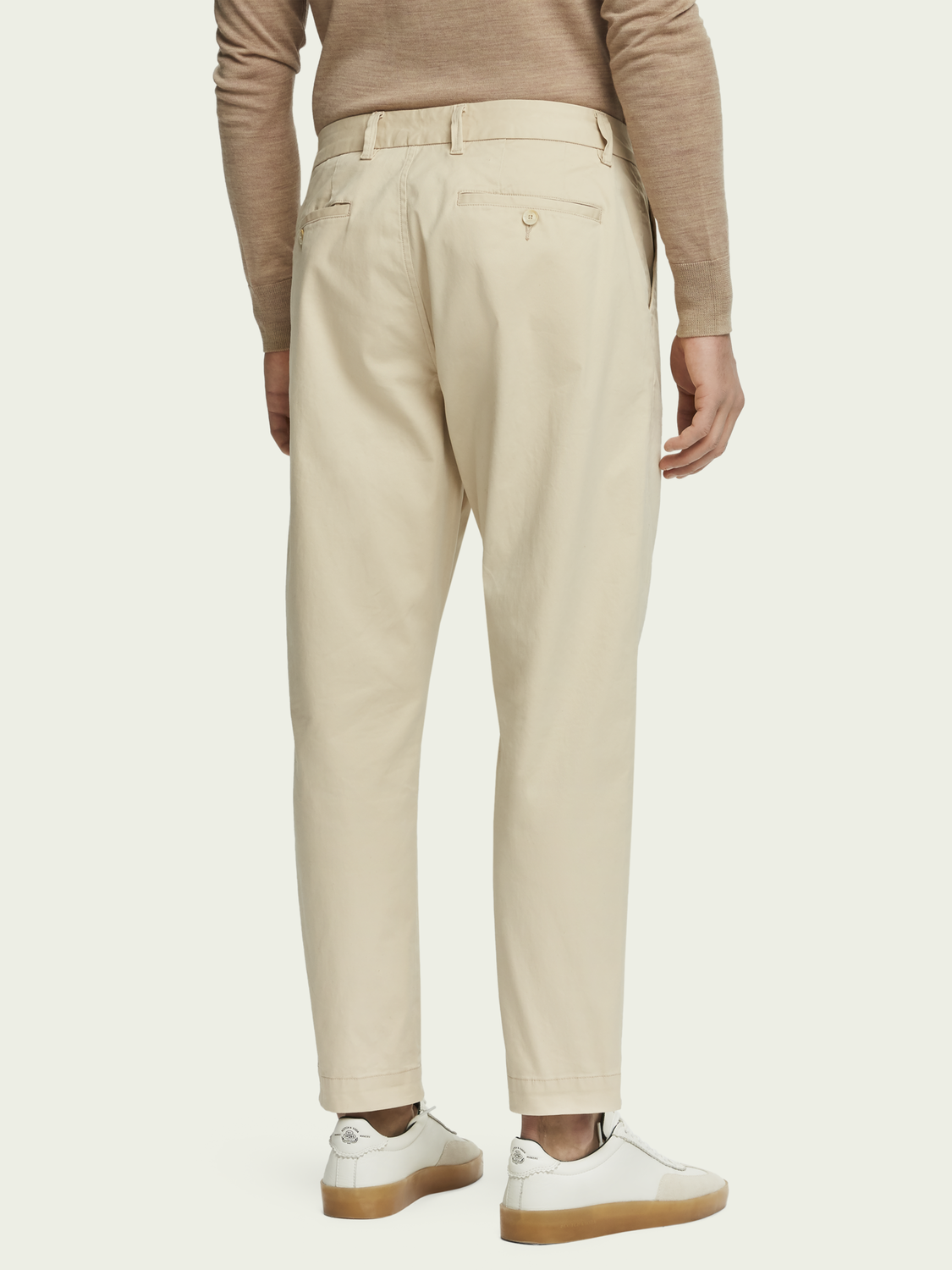 Men Fave - Organic Twill Chinos | Regular tapered fit