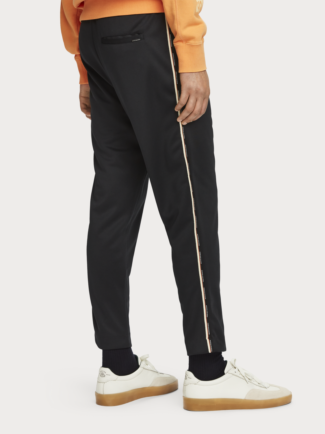 Men Logo Tape Sweatpants
