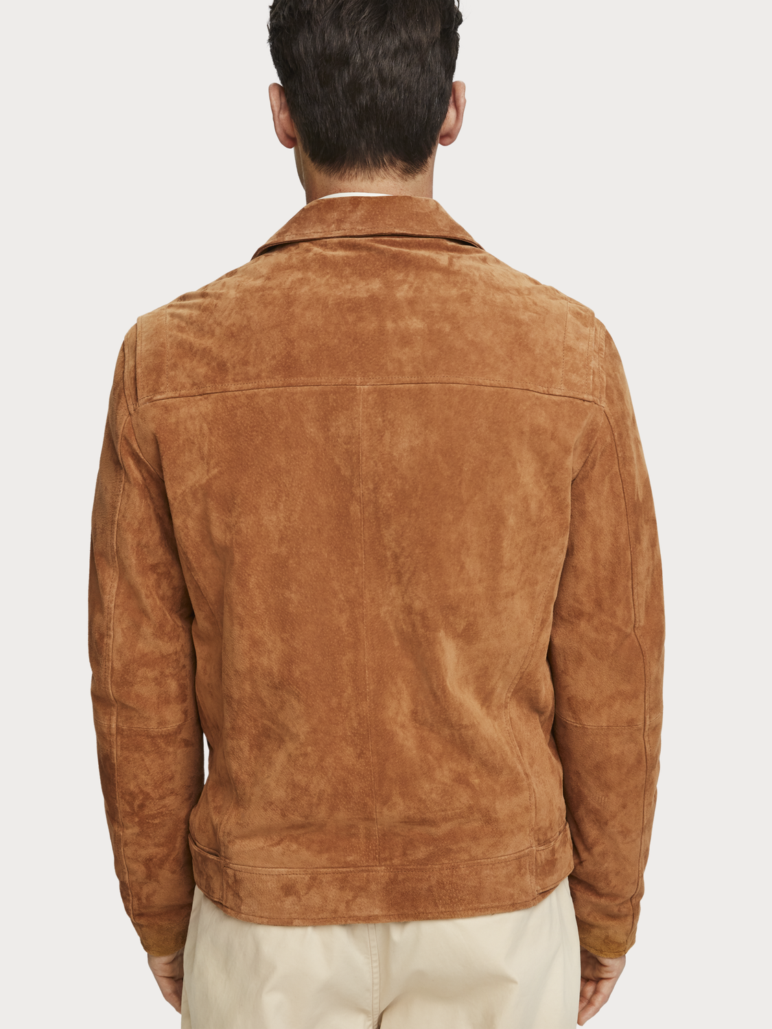 Men Suede biker jacket