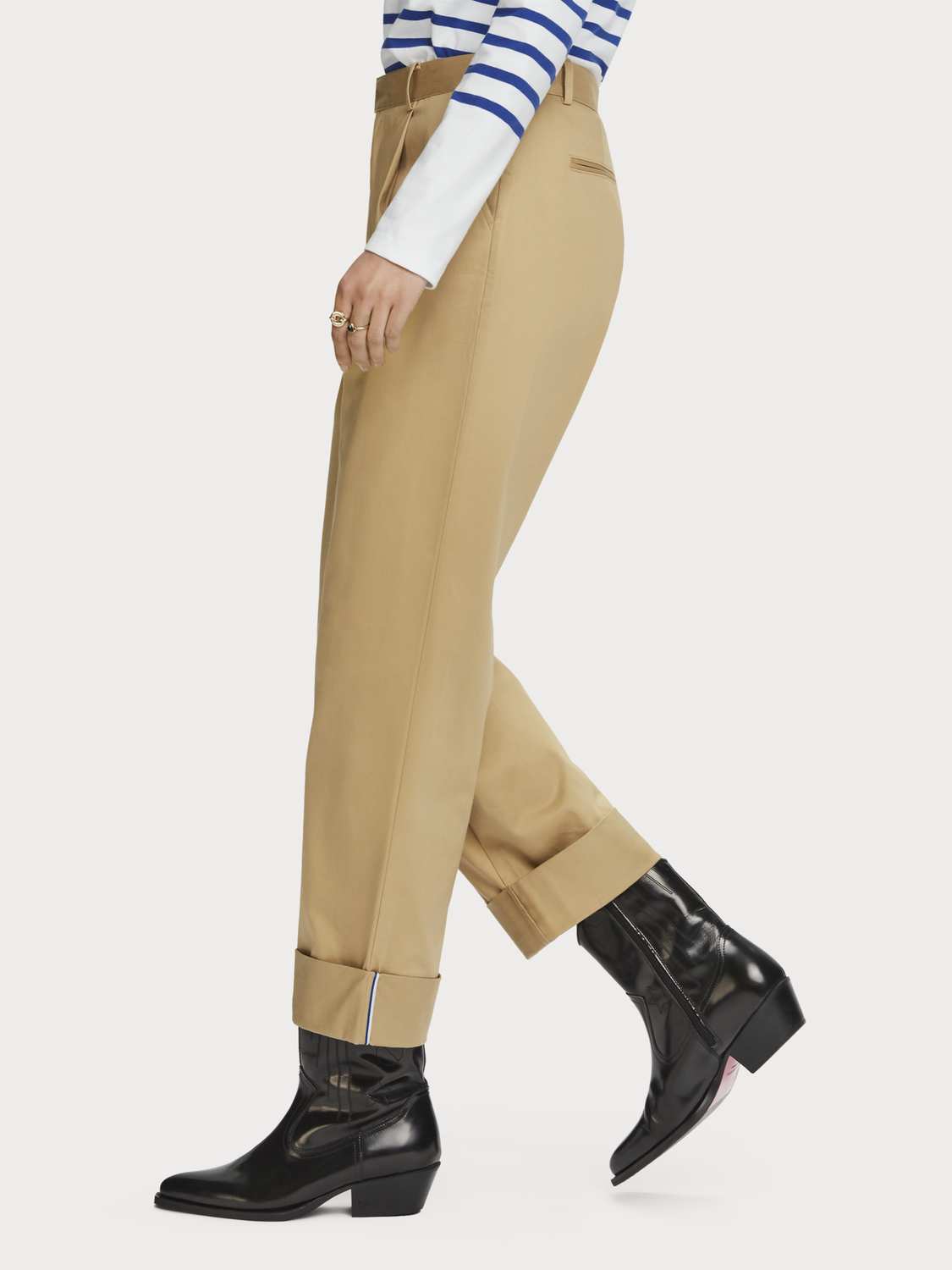 Damer Chinos med relaxed fit