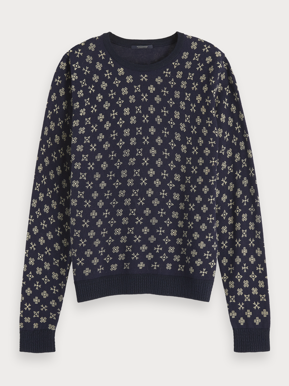 Women All-Over Printed Pullover