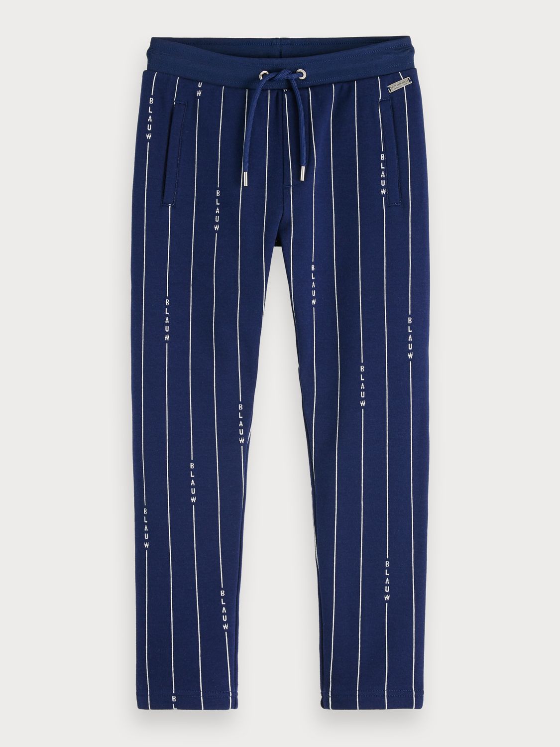 Boys Striped Sweatpants