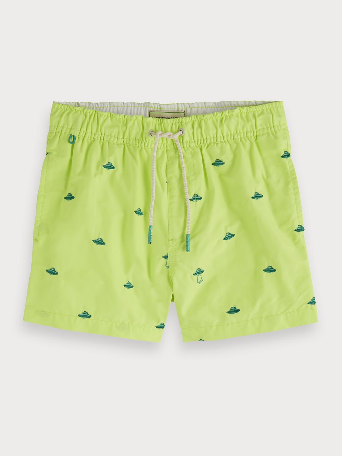 Boys Embroidered swim shorts