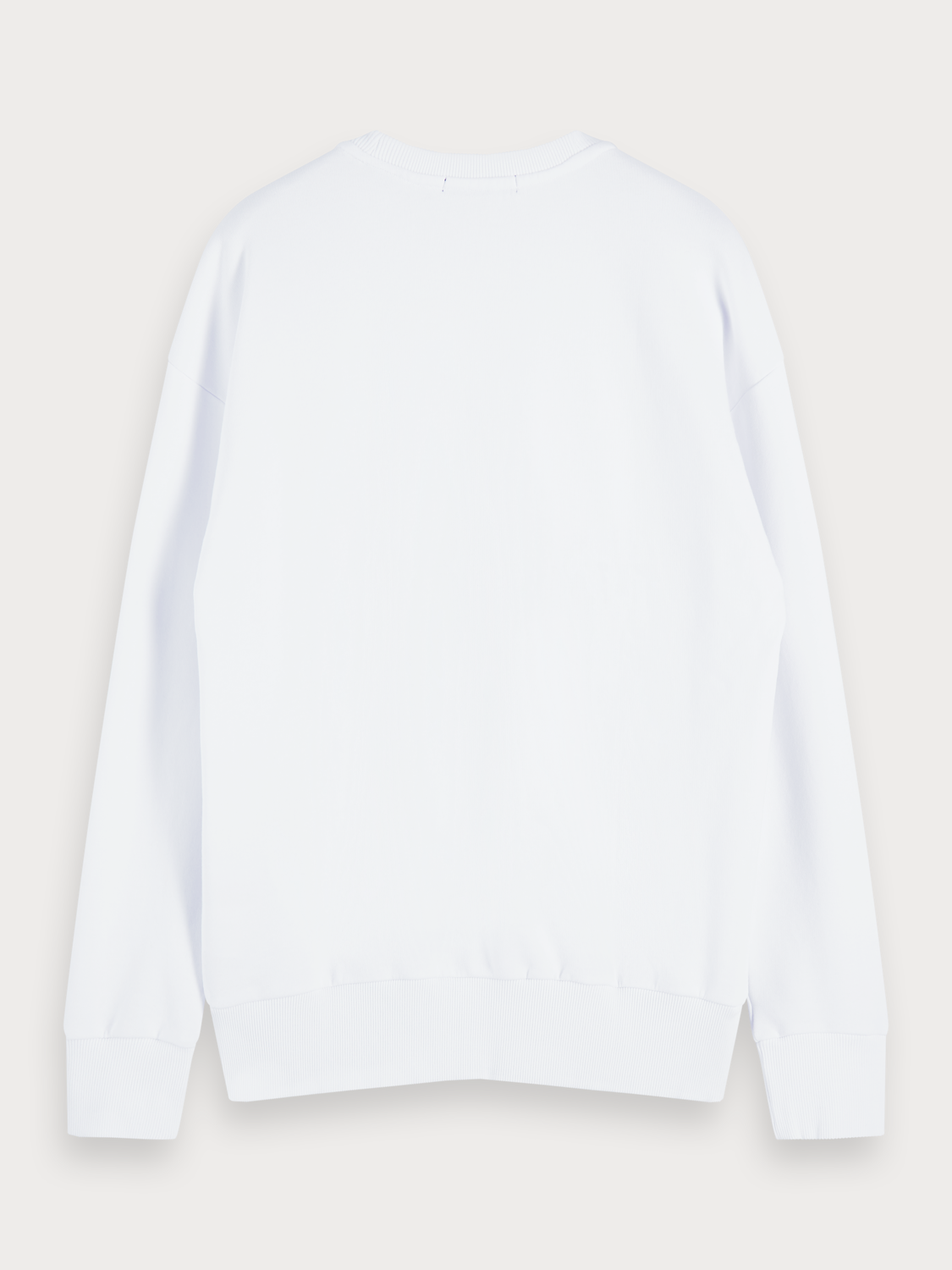 Men Relaxed crew neck sweater