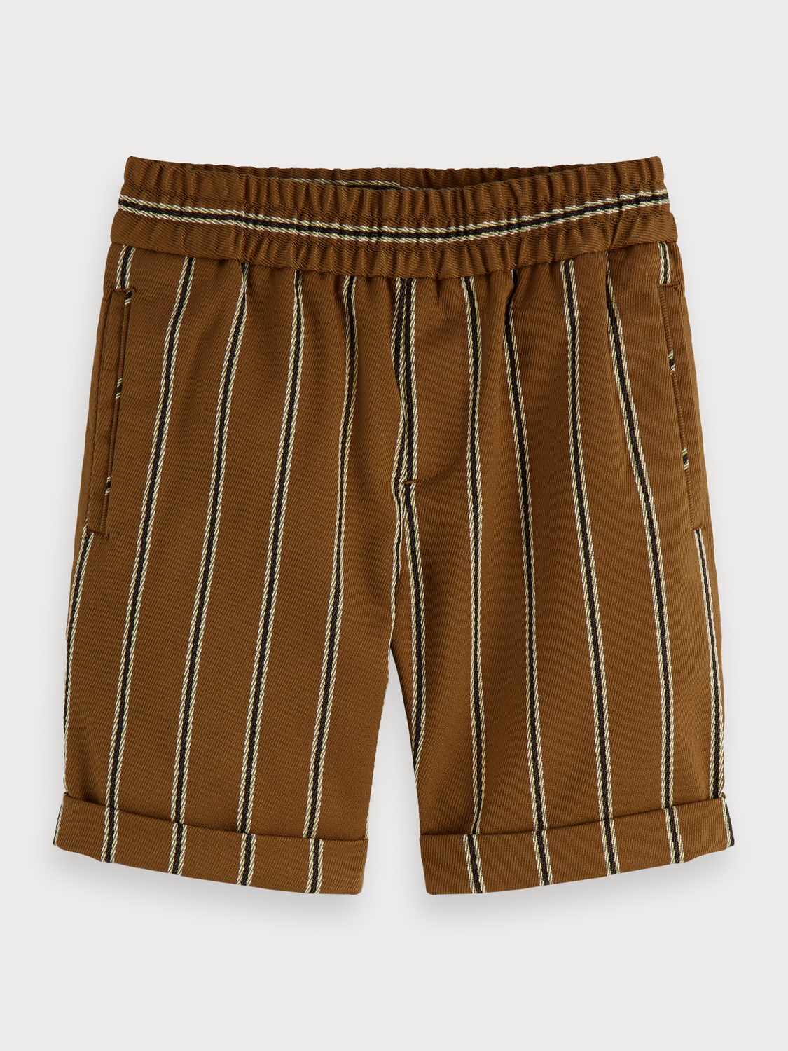 Boys Striped Dressed Shorts