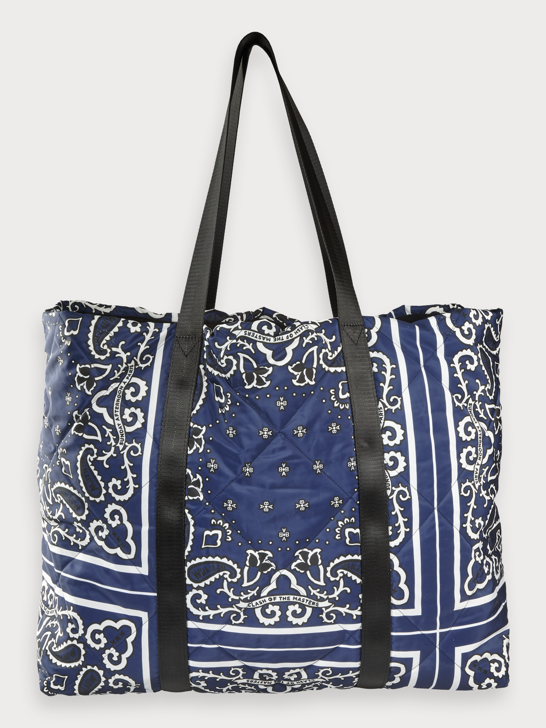 Women Bandana Print Shopper