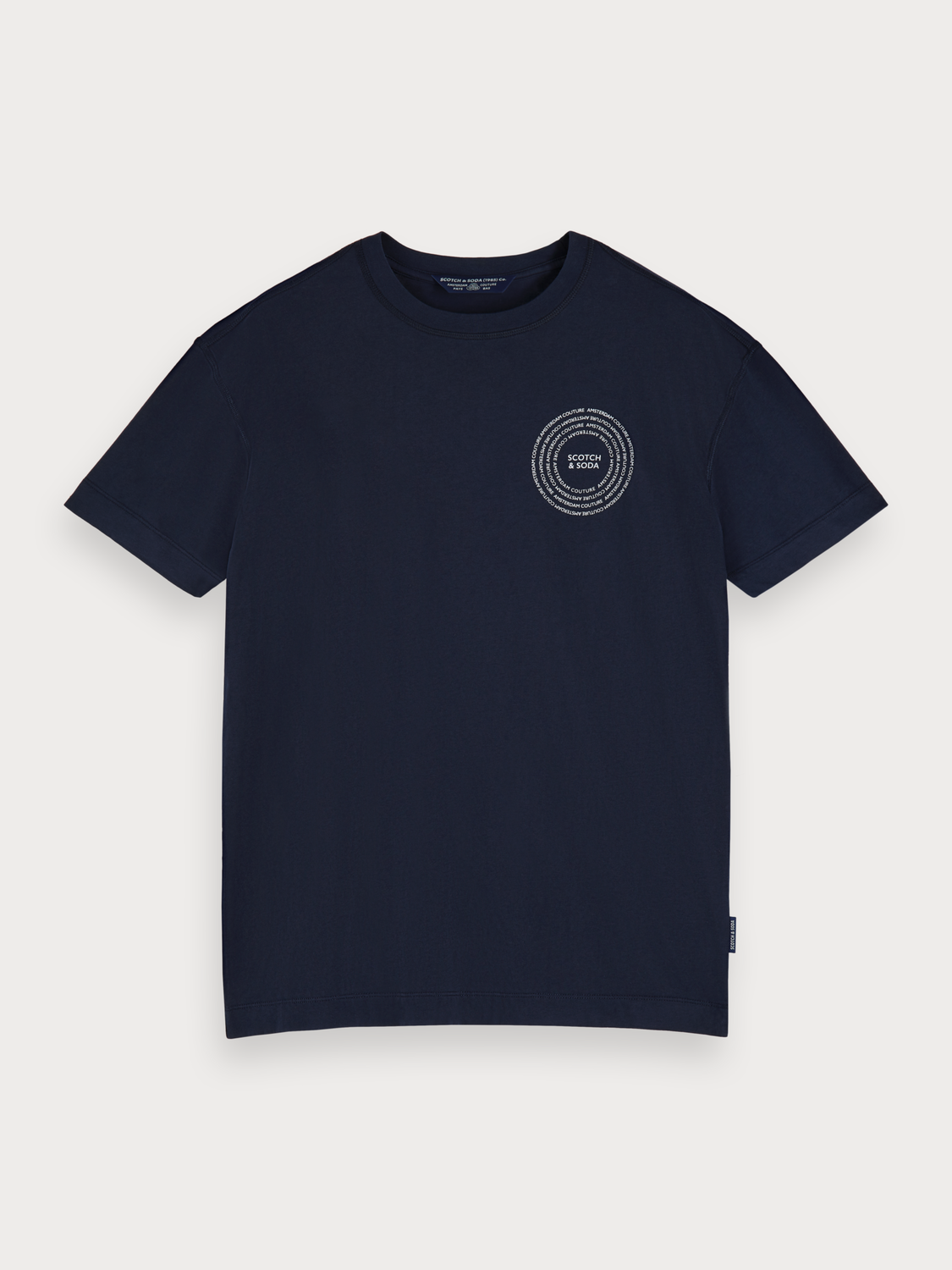 Men Crew neck logo t-shirt