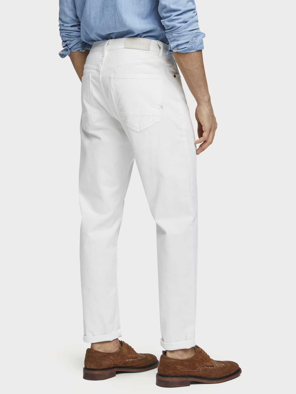 Men The norm - twill jeans | High rise straight fit