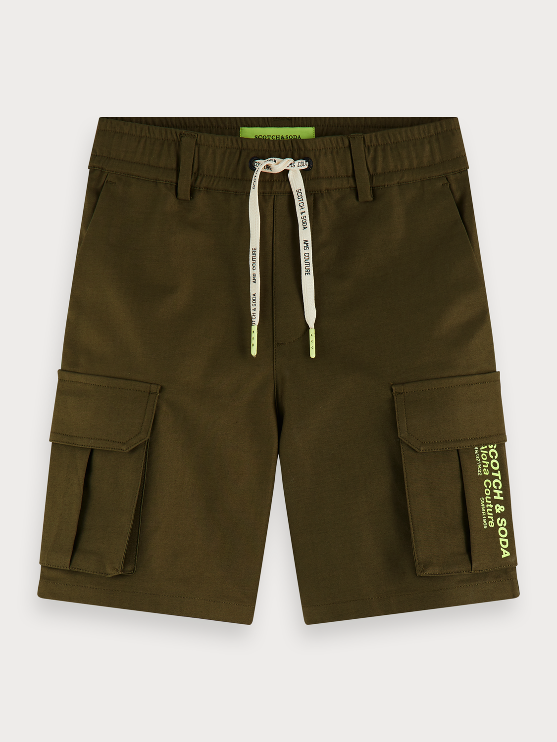 Boys Stretch cotton cargo shorts