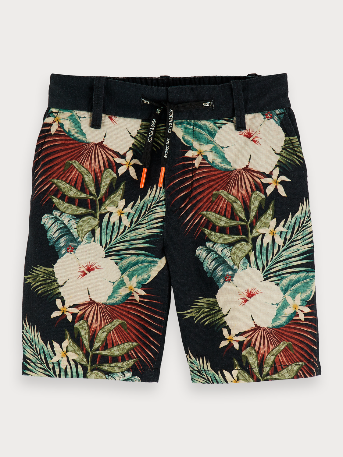 Boys Cotton-linen shorts