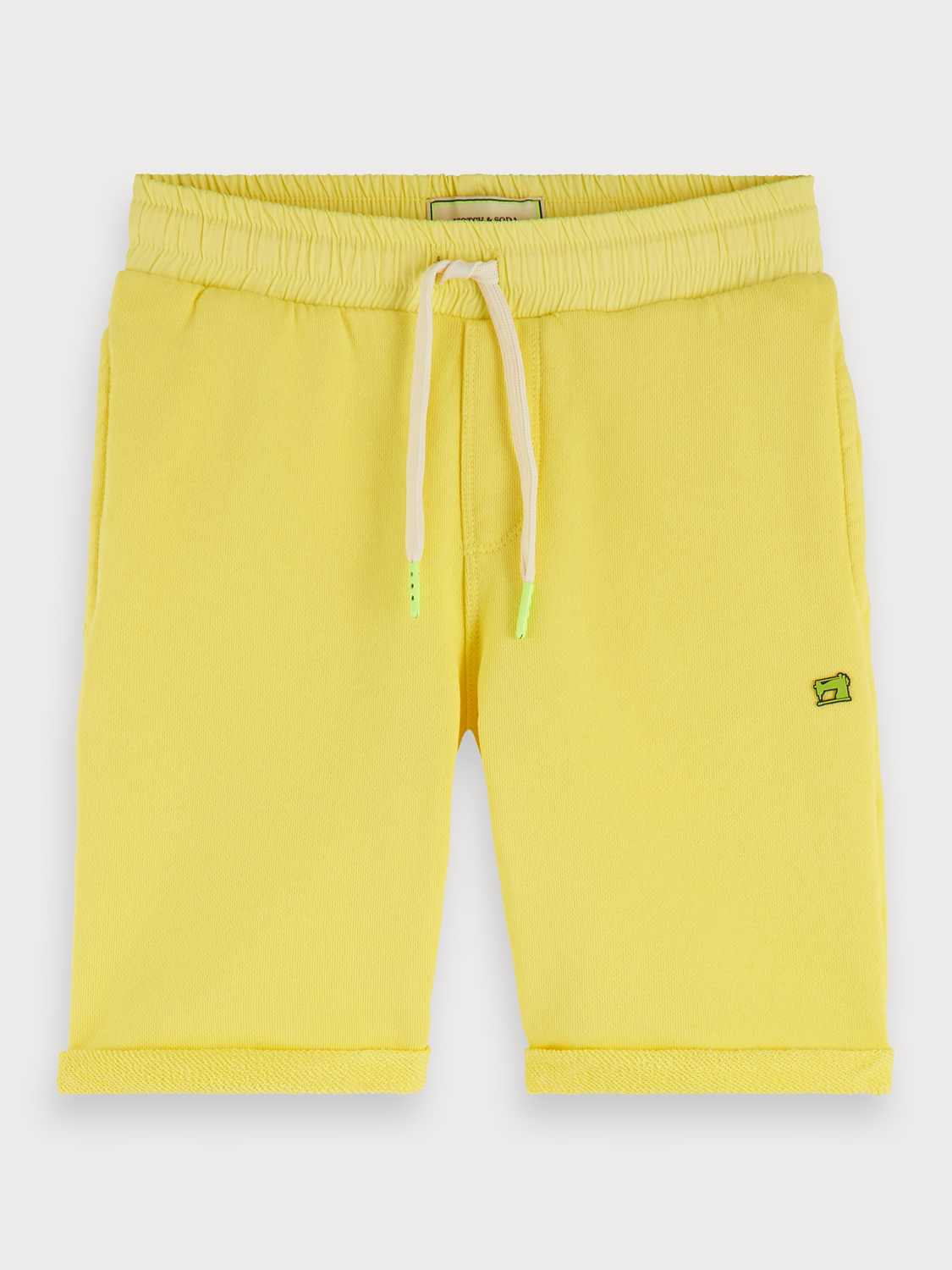 Boys Yellow sweat shorts