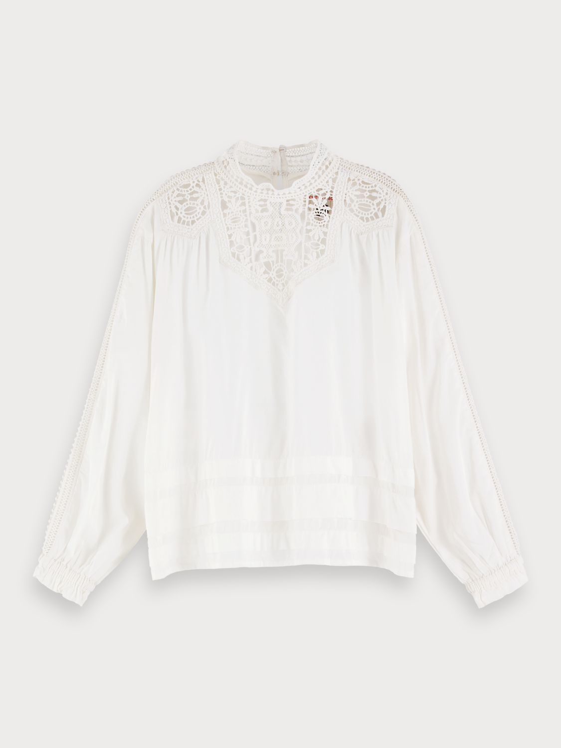 Girls Lace Detail Top