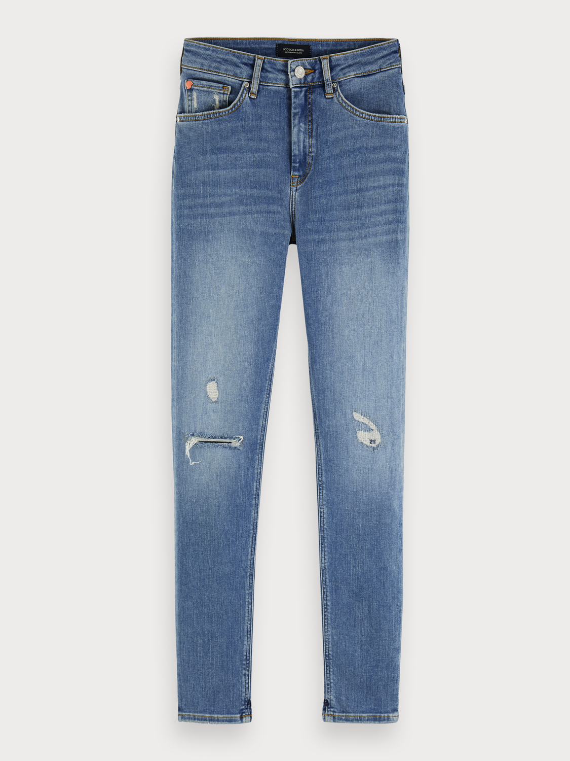 Donna Haut - Underground Blue | High rise skinny fit