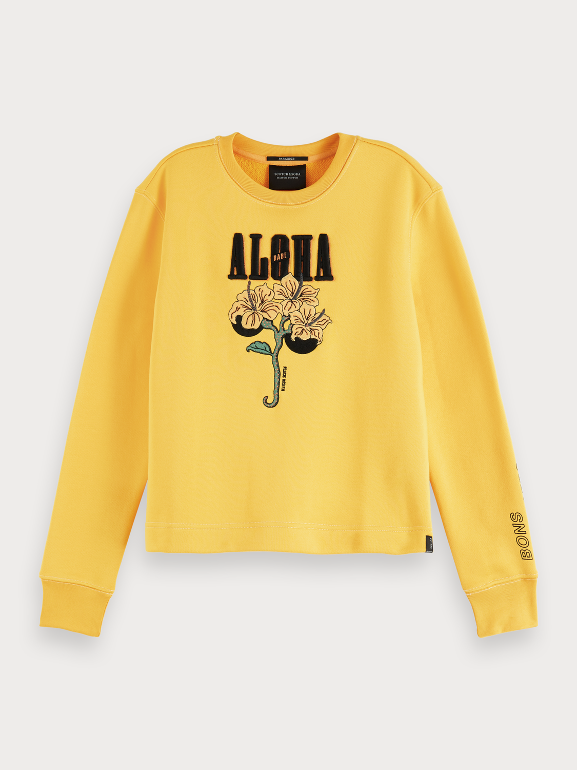 Women Aloha Artwork Sweater