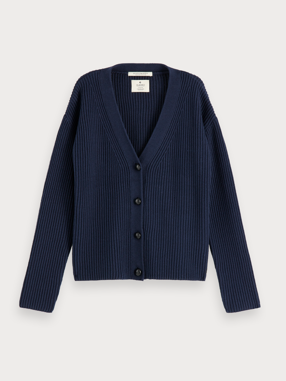 Damen Grobstrick-Cardigan