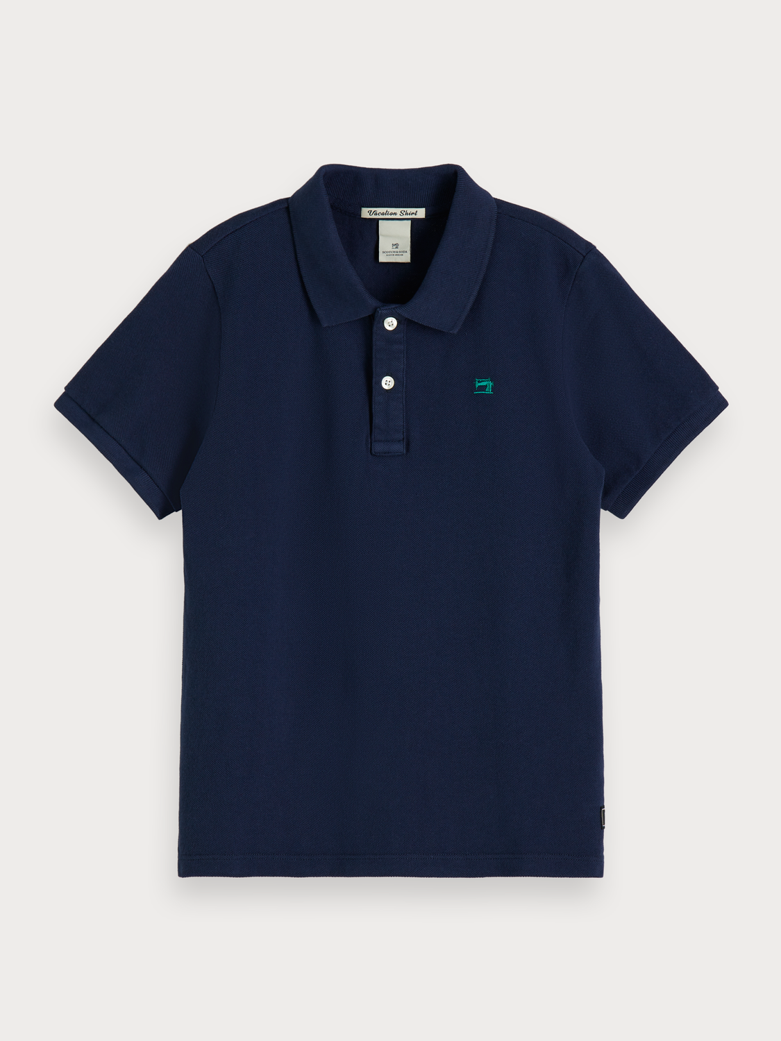 Boys Cotton Piqué Polo