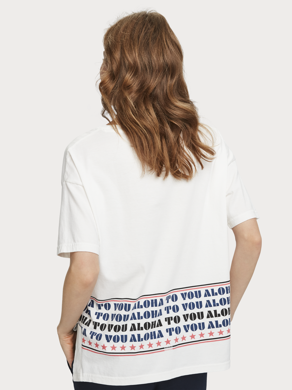 "Donna T-shirt ""Aloha To You"""