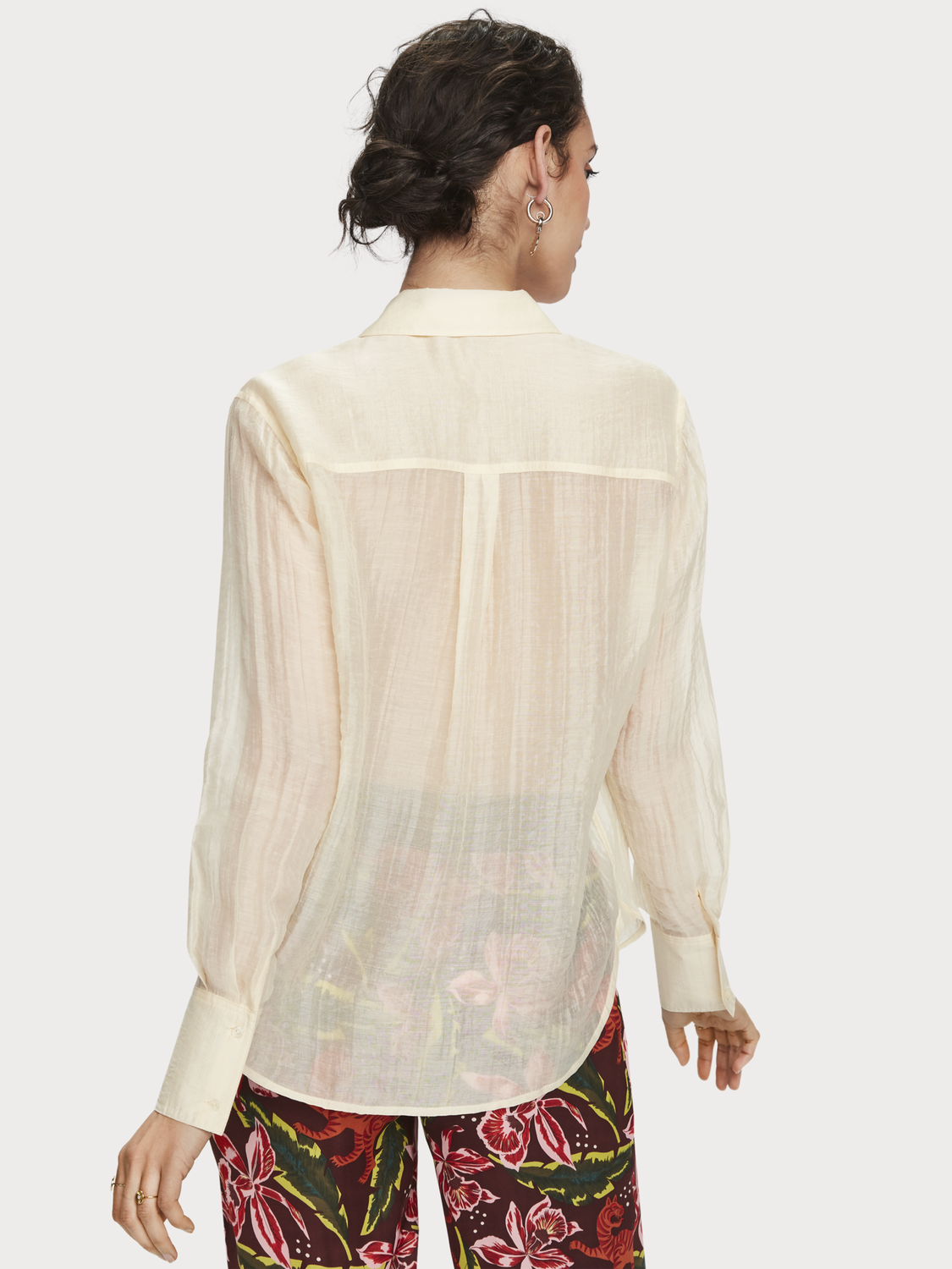 Damen Transparentes Shirt