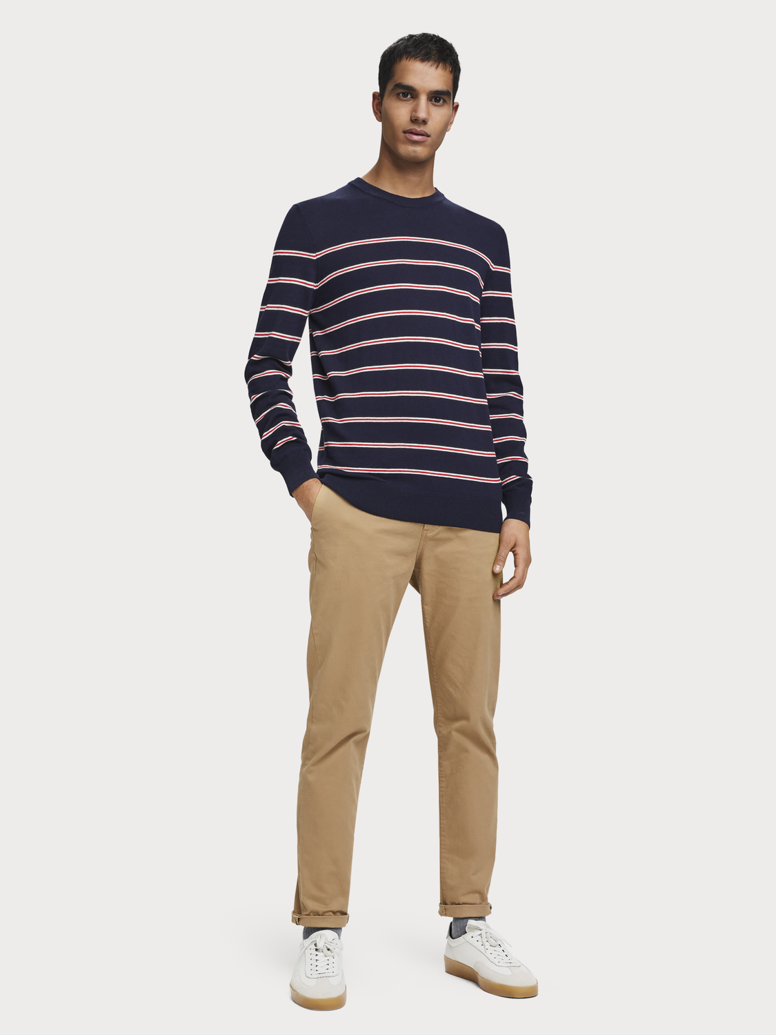 Men Striped pullover