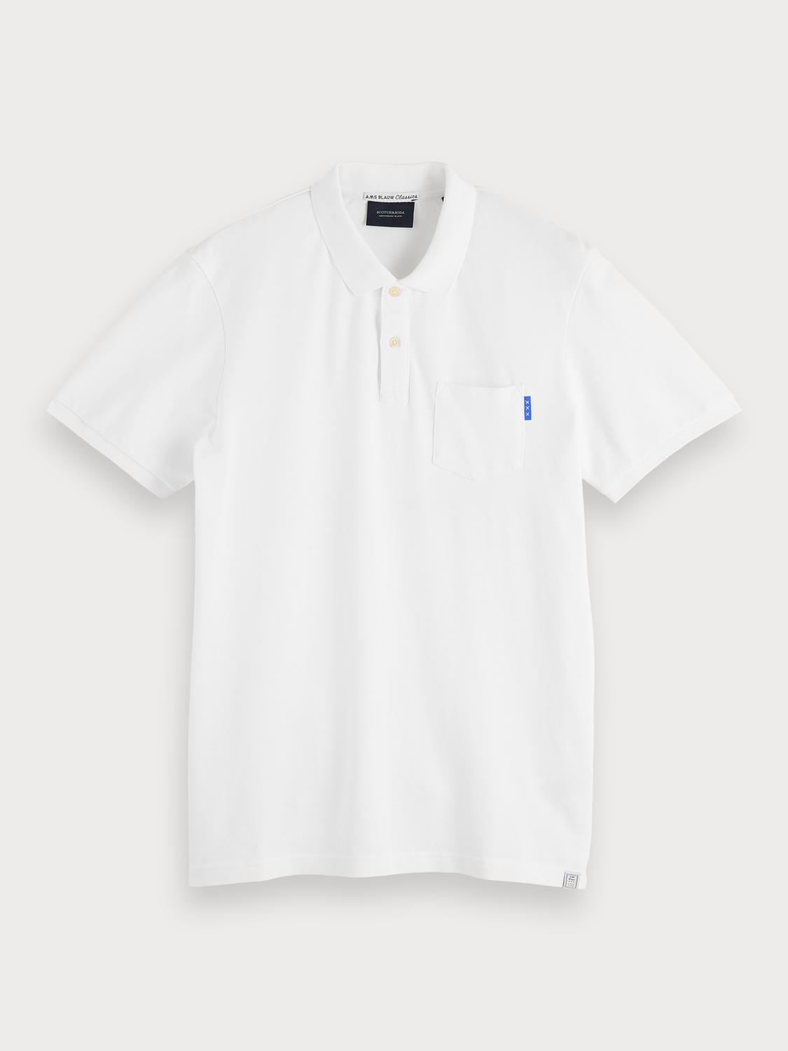 Men Basic Chest Pocket Polo