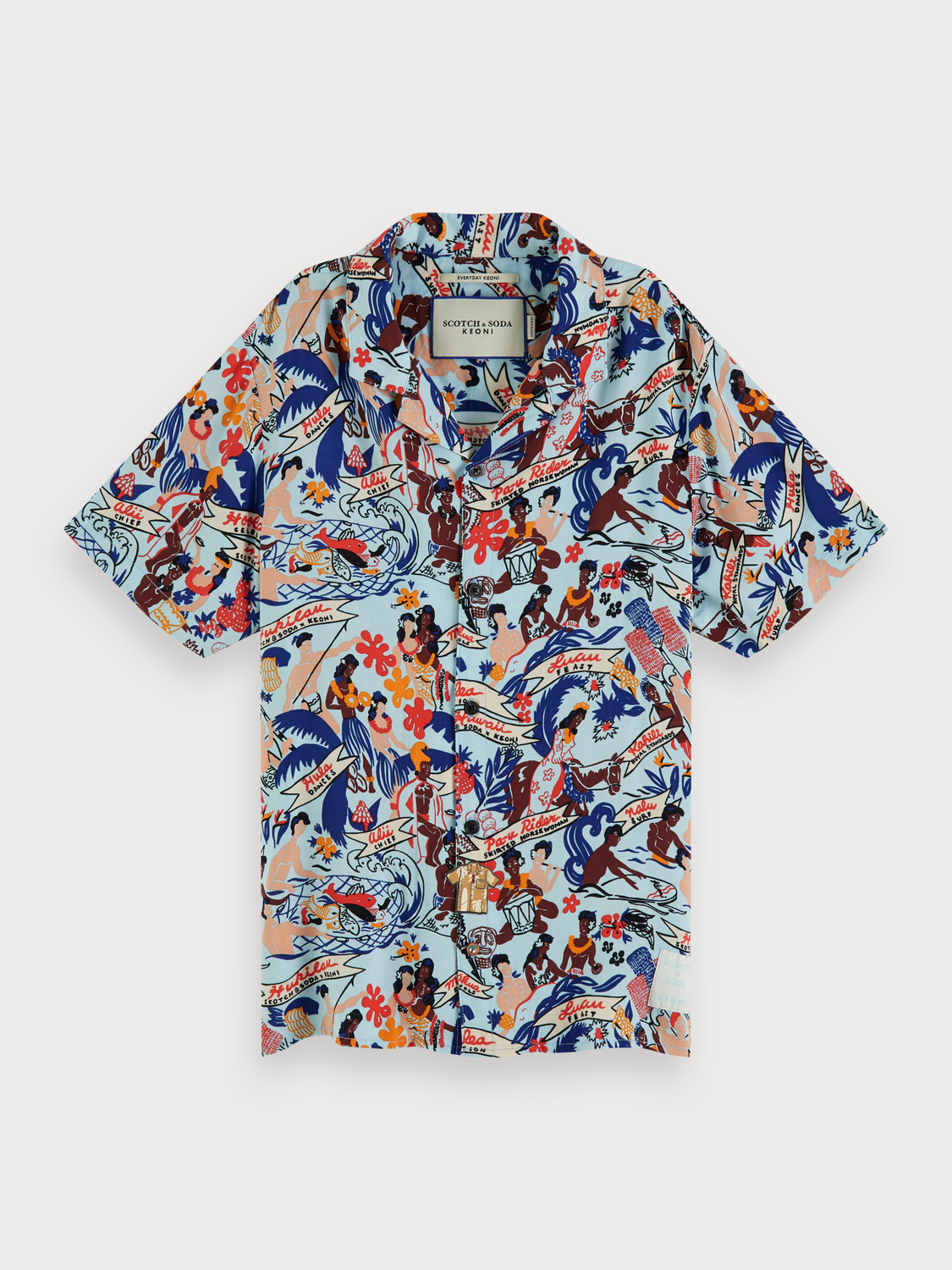 Boys Printed hawaii shirt | Keoni