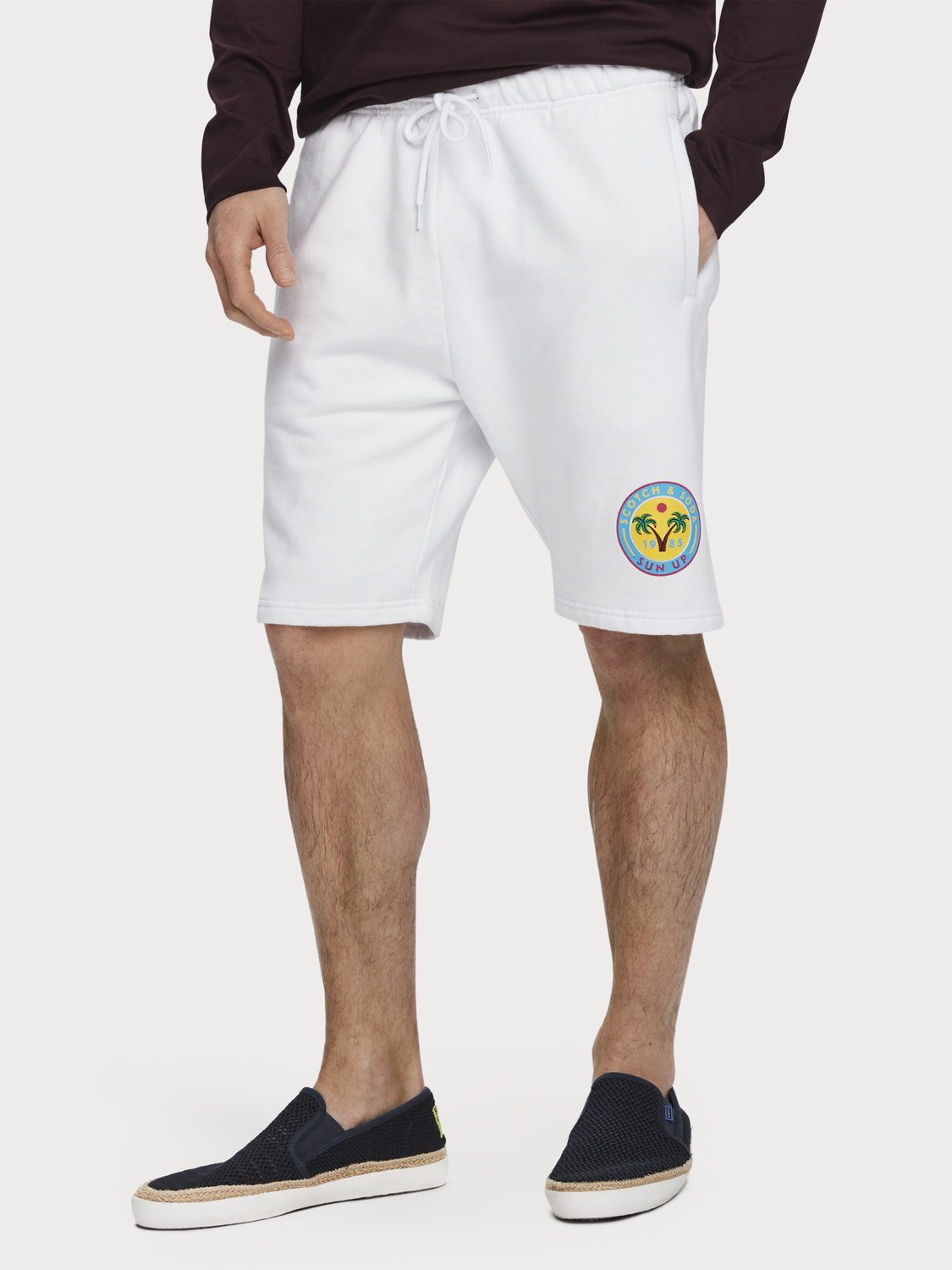 Heren Relaxed sweatshort