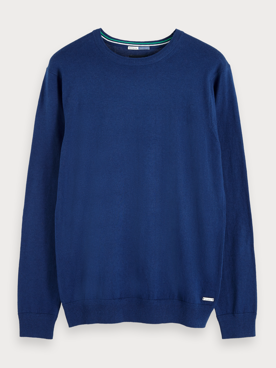 Men Cotton-Cashmere Pullover