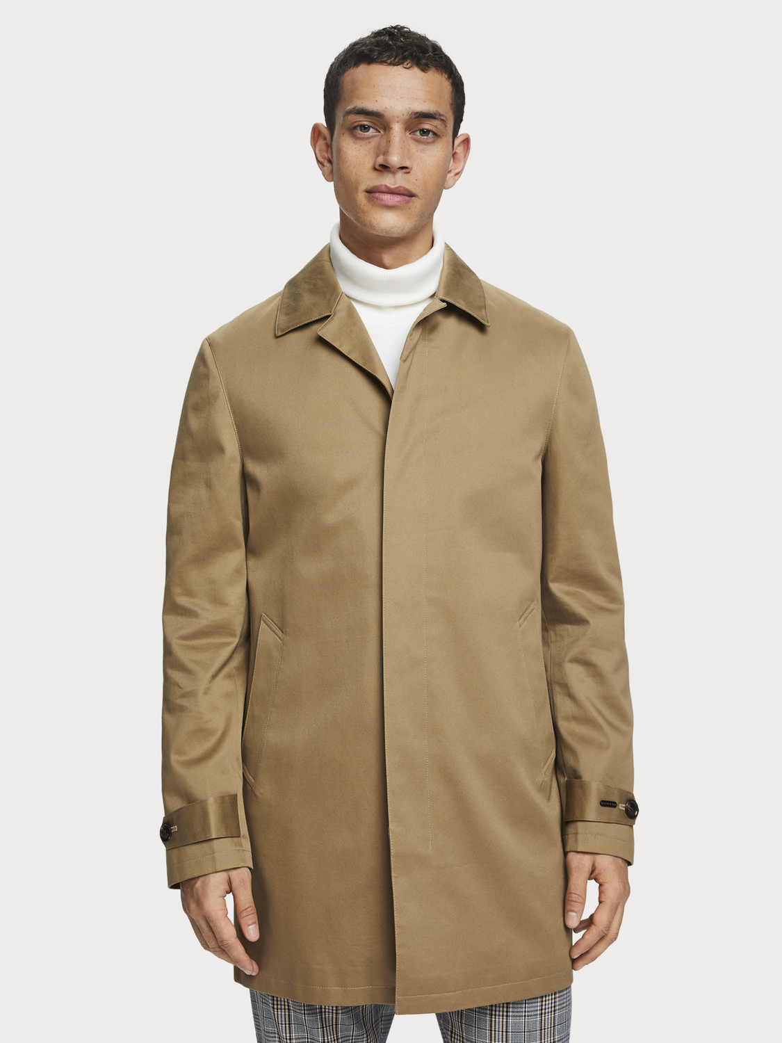 Men Classic trench coat
