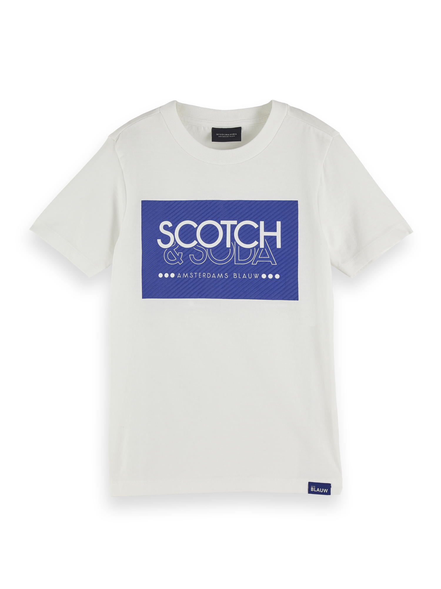 SCOTCH & SODA T-Shirts | Scotch & Soda T-Shirt mit Artwork-Logo