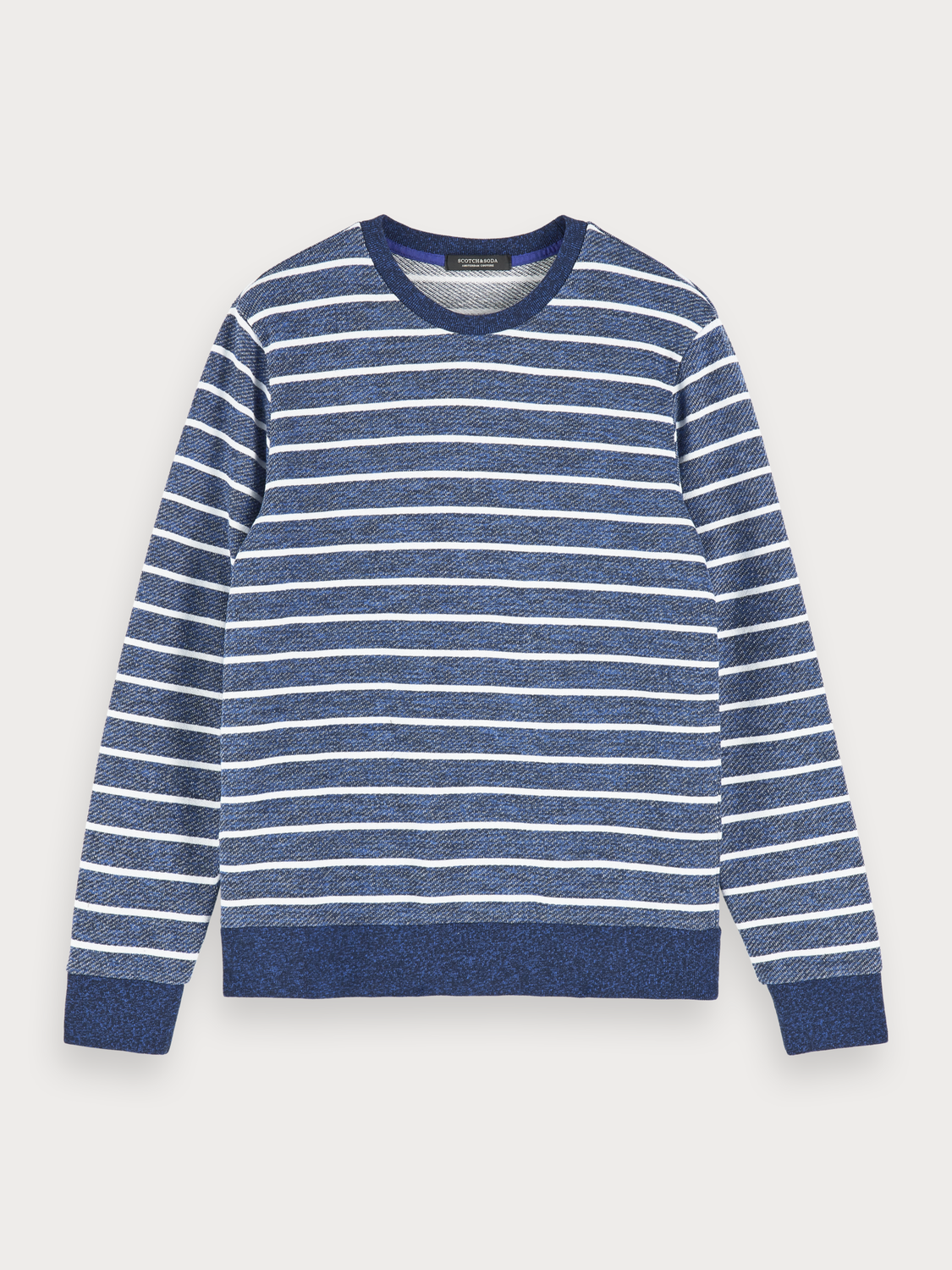 Men Mélange crew neck sweater
