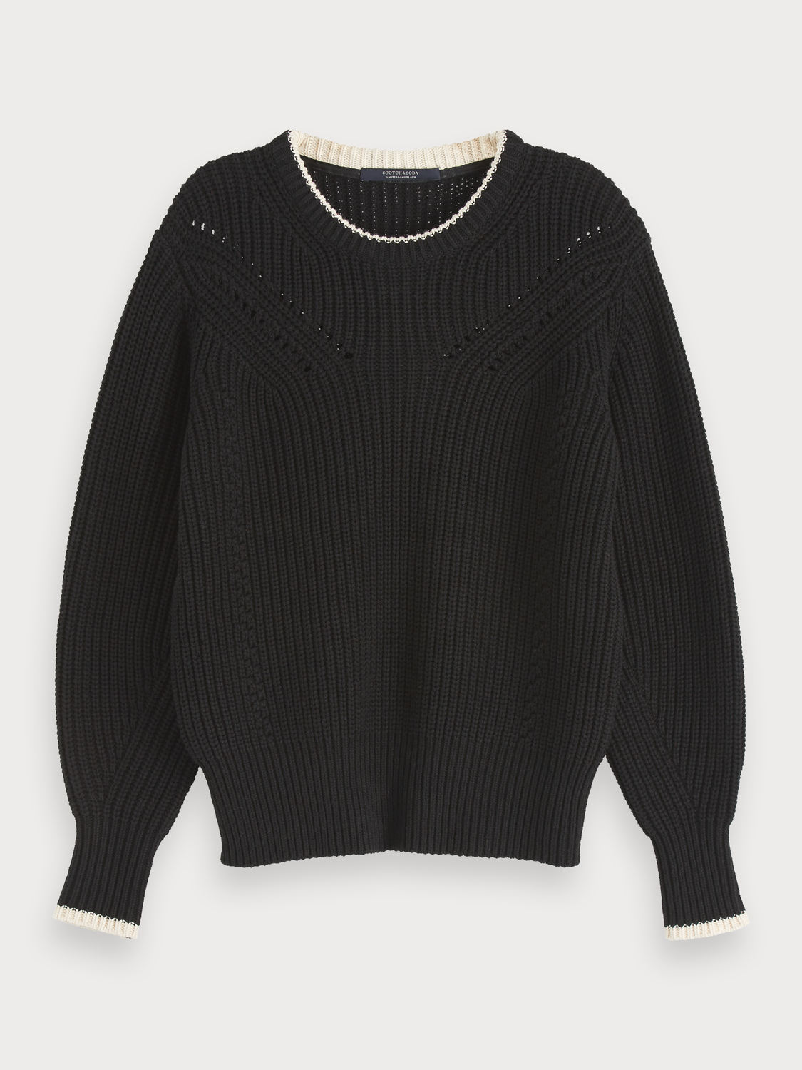Women Chunky Knit Pullover