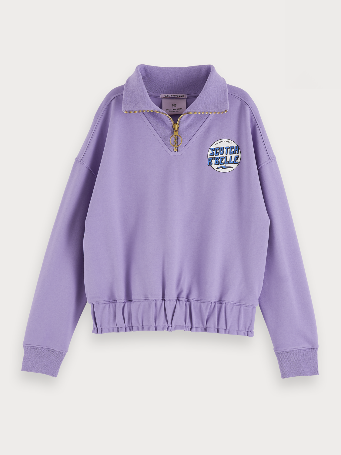 Girls Half-zip sweater