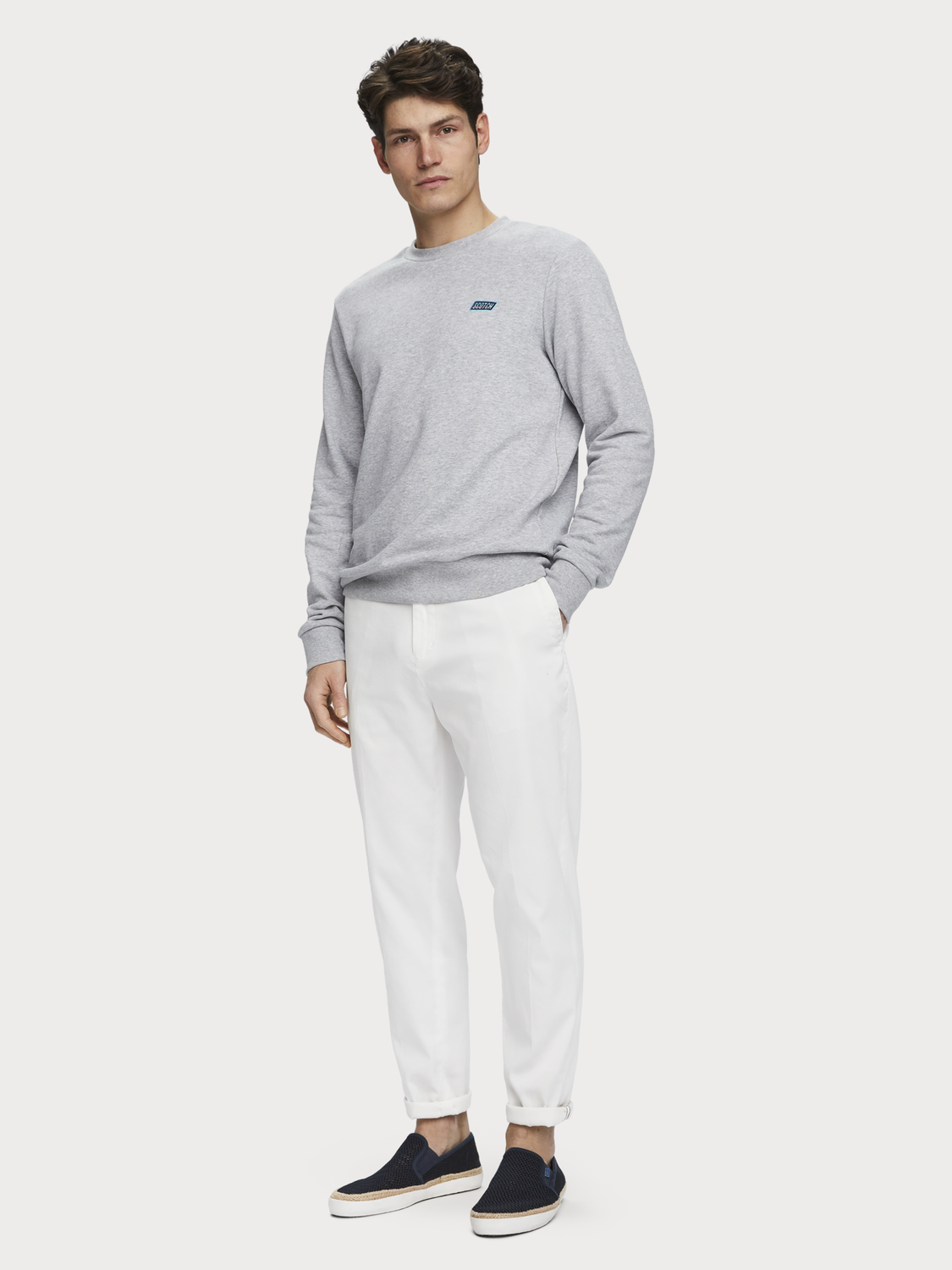 Men Fave - structured chinos | Regular tapered fit