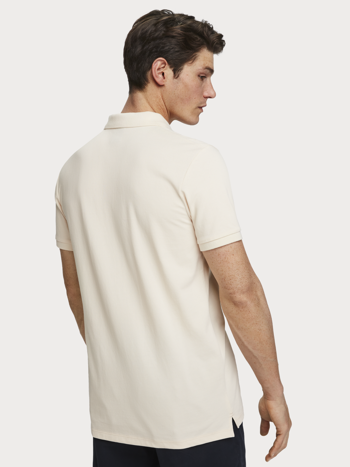 Men Classic cotton piqué polo