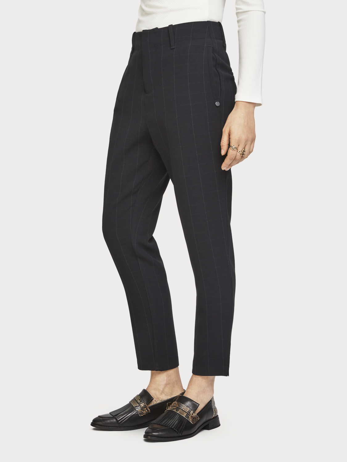 Women Checked Trousers