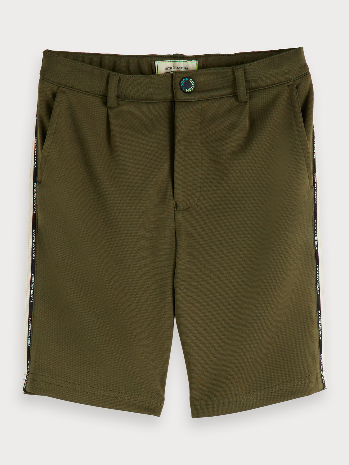 Boys Dressed Track Shorts