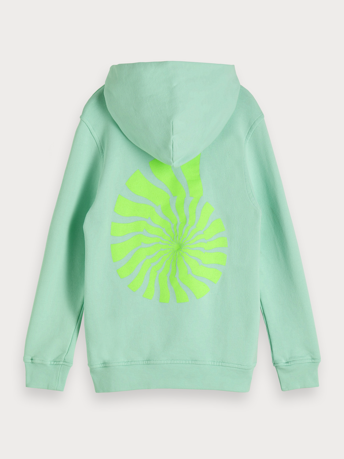 Boys Glow In The Dark Artwork Hoodie