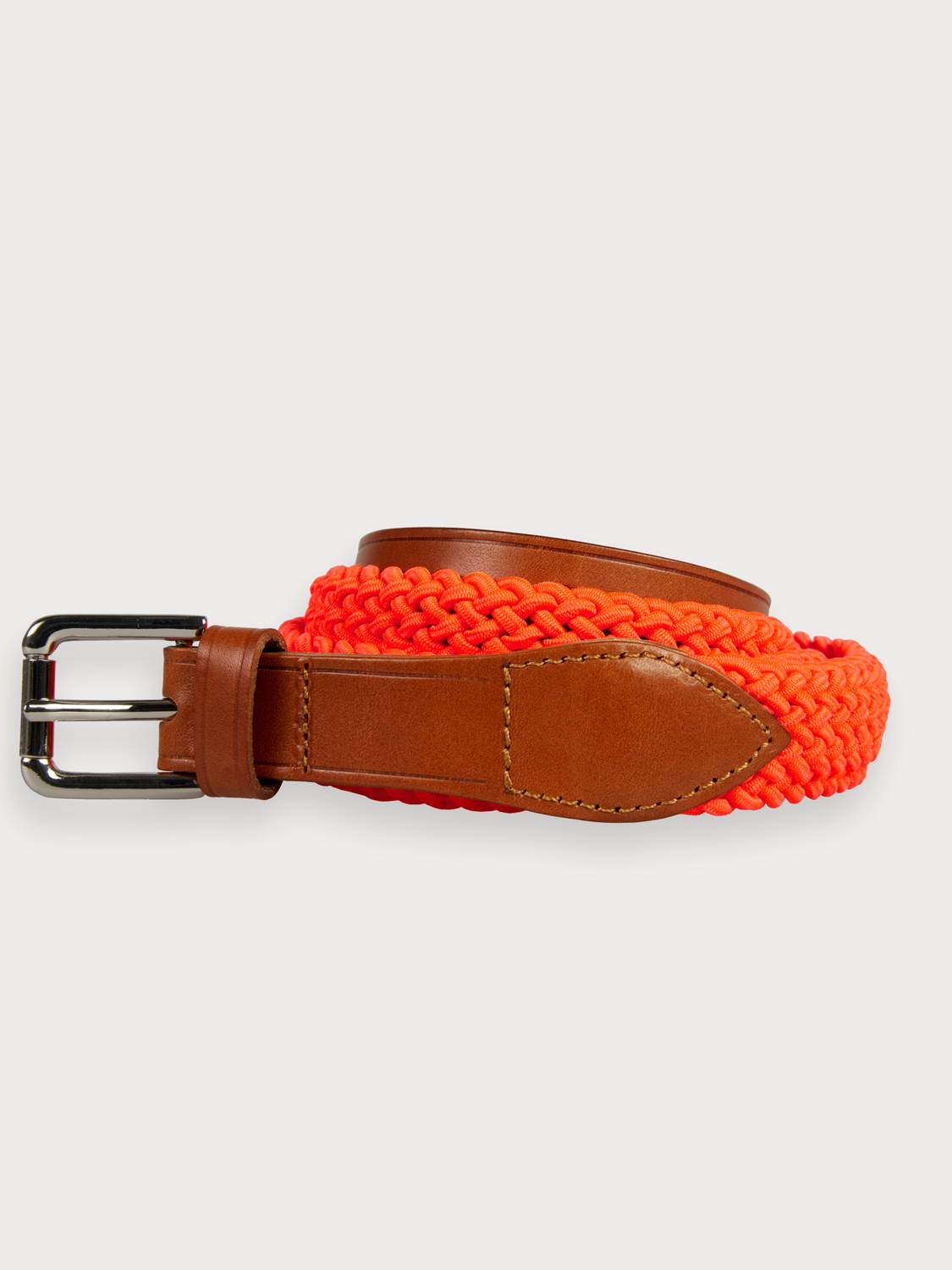 Men Braided Belt