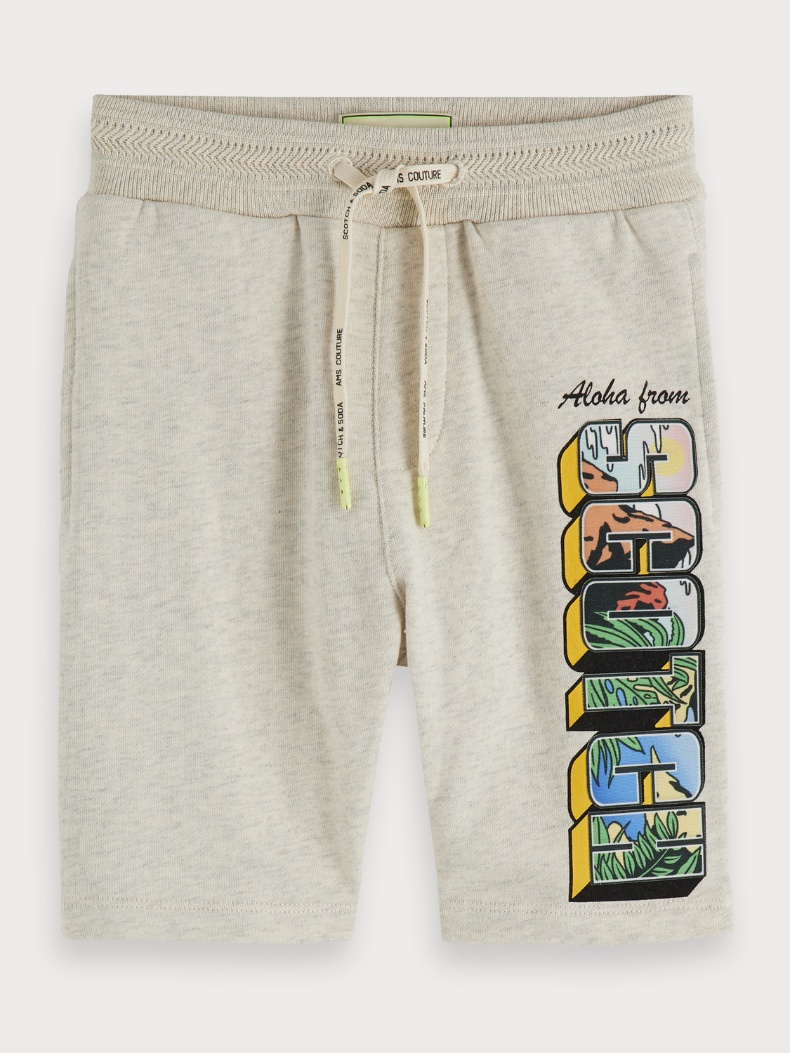 Boys Logo artwork sweat shorts
