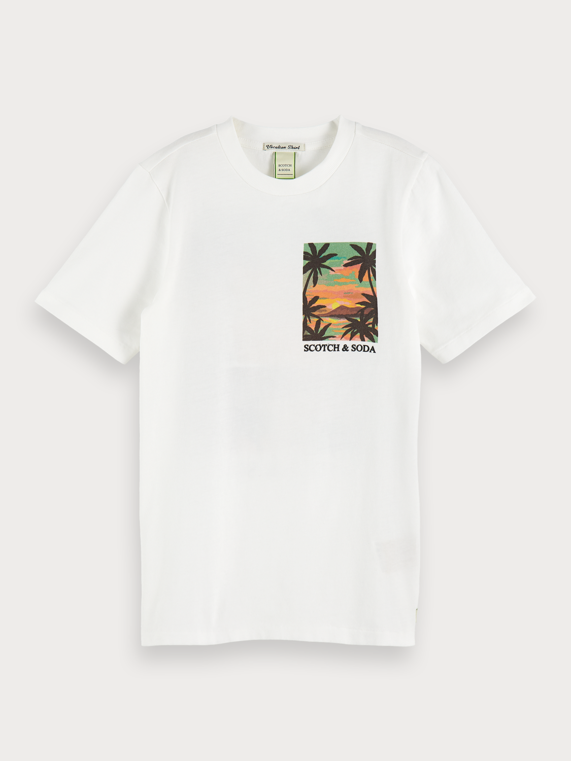Pojkar T-shirt med Hawaii-motiv
