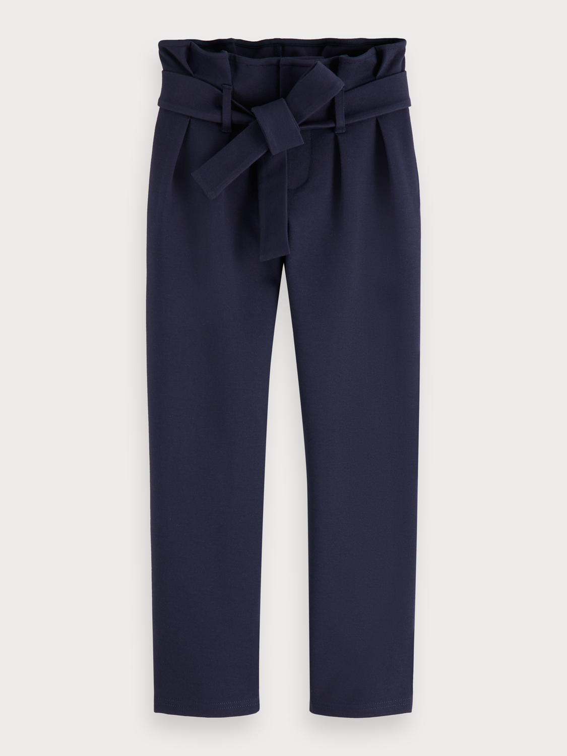 Girls High waisted paperbag trousers | slim fit