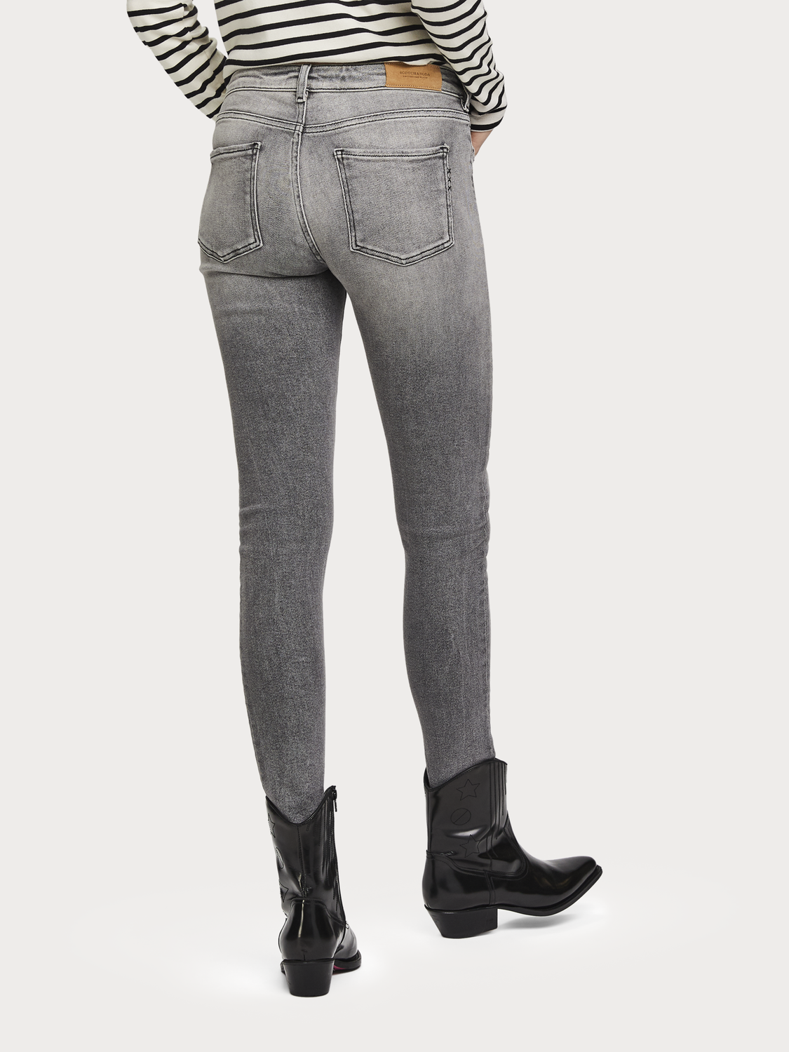 Donna La Bohemienne - The Great Grey | Mid rise skinny fit