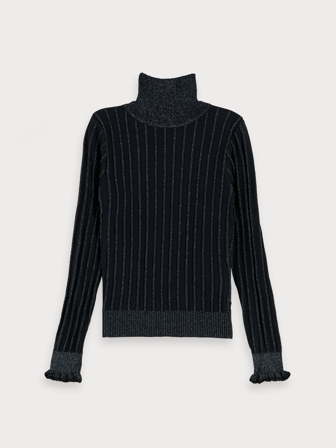 Girls Rib Knitted Pullover