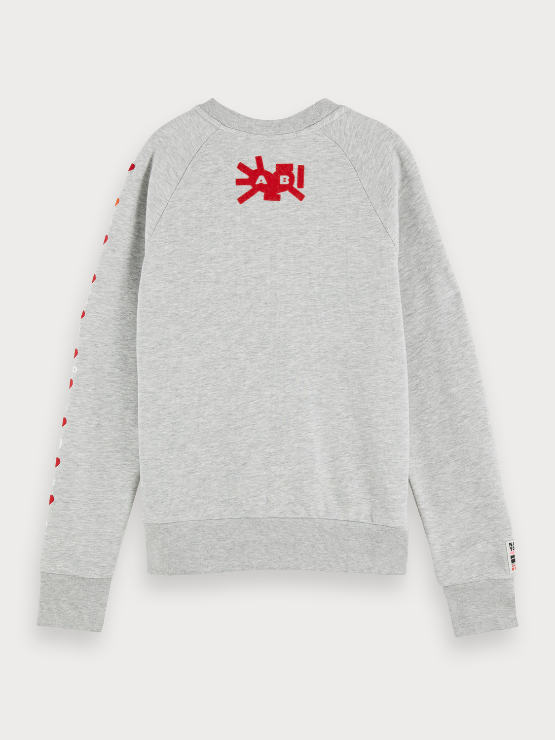 Women Crew Neck Artwork Sweater
