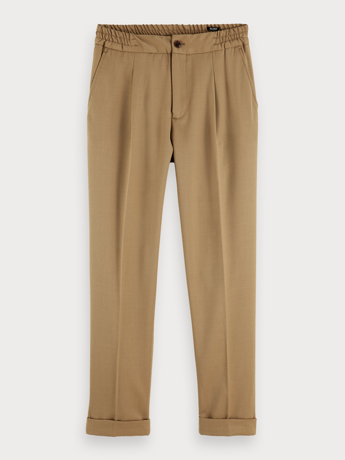 Men Blake - wool blend trousers | Regular slim fit