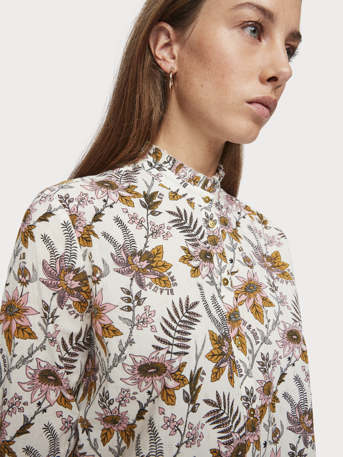 Women All-Over Printed Blouse