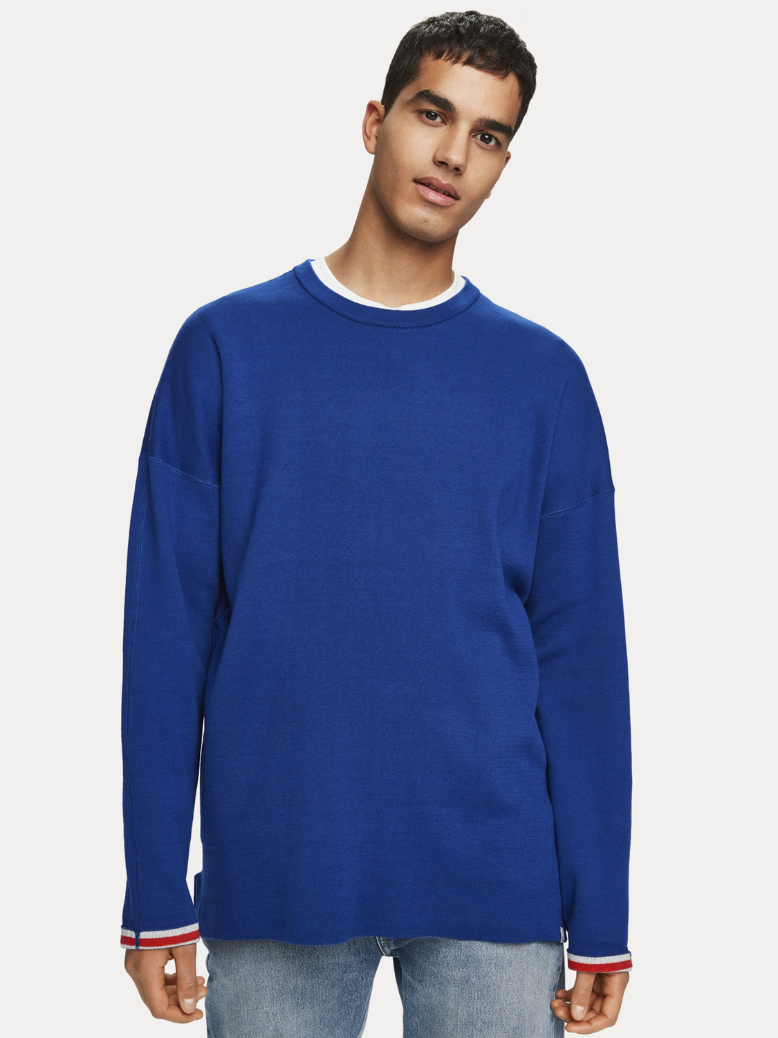 Homme Pull réversible
